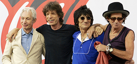 The Rolling Stone skal være klar for Live Aid II i Hyde Park 2. juli. Foto: Gary Hershorn, Reuters.