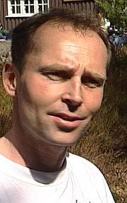 Espen Flaatten sier slaktingen er frivillig ( Foto: NRK).
