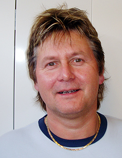 Tor Helgeton i Midt Norsk Musikkservice tror retrobølgen er kommet for å bli. Foto: mnmservice.no.