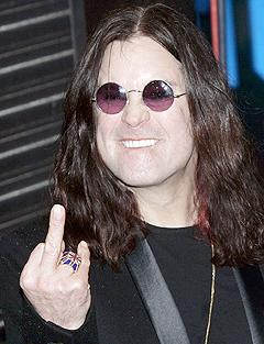 Ozzy Osbourne har roet seg ned de siste årene, men allikevell klarte han en tredjeplass. Foto: Adam Butler, AP Photo / Scanpix.