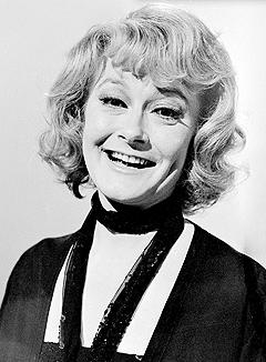 """Monica Zetterlund var også kjent som skuespiller i filmer som """"Att angöra en brygga"""" og i serier som """"Utvandrerne"""". Foto: NRK foto / arkiv."""