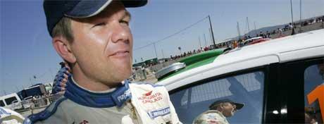 Henning Solberg henger fortsatt med i toppen i Rally Kypros. (Foto: Heiko Junge / SCANPIX )