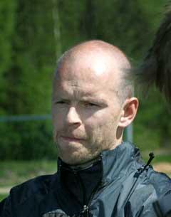 Henning Berg på Lyn-treningen fredag. (Foto:Terje Bendiksby / SCANPIX)