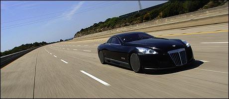 Maybach Exelero - et monster av en bil. (Foto: DaimlerChrysler)