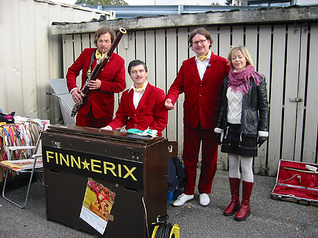 Finn Erix og Britt Synnøve Johansen. Foto: NRK