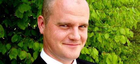 Morten Holmefjord er kandidat til P1-regjeringa. Foto: Eli Bjelland / NRK