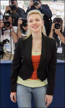 Scarlett Johansson i Cannes (Foto: Scanpix)