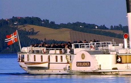 Det gamle dampskipet kan ikke taes i bruk som planlagt på grunn av for lav vannstand i Mjøsa.
