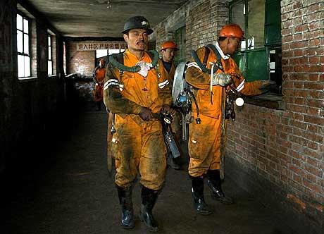 gruveulykke i Kina. foto: scanpix