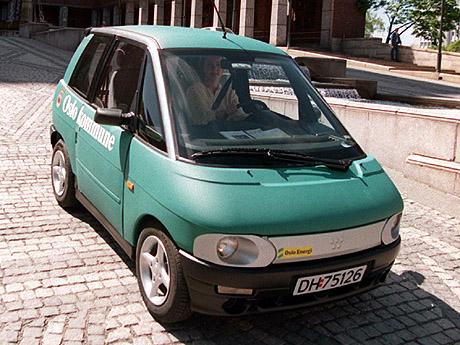 Utviklinga av el-bilen så ut til å gå strålende helt frem til 2003. Foto: Jon Eeg / SCANPIX