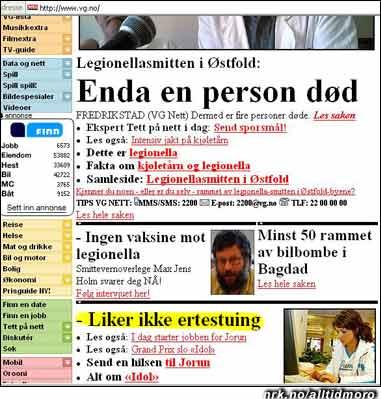 Den fjerde største nyheten 23. mai 2005 var at Idol-Jorun ikke liker ertestuing. Dette i følge vg.no. (Innsendt av Harald A. Nyheim)