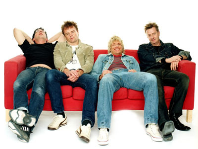 Wilmer X: Nisse Hellberg, Jalle Lorensson, Sticky Bomb og Thomas Holst