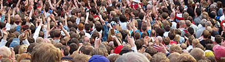 Folkevandring til Dansebandfestivalene