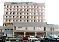Rabazi ble fraktet til dette sykehuset i Amman. (Foto: JRT)