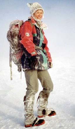 Aud Jovall klarte ikke å nå toppen 23. mai (Foto: www.sigridhammer.no)