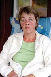 Elisabeth Vintervold mener det er dårligere legetilbud for folk enn for dyr i Drangedal.(Foto:S.Høidalen, Drangedalsposten)