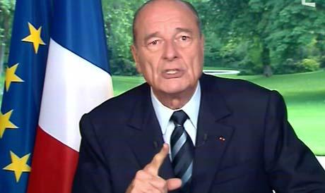 Frankrikes president Jacques Chirac vil jobbe for den nye EU-grunnloven uansett om det franske folk vil ha den eller ikke. (Foto: Scanpix)