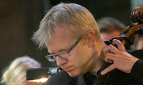 Øyvind Gimse er ny sjef for Trondheimssolistene. Foto: Arne Kristian Gansmo, NRK.