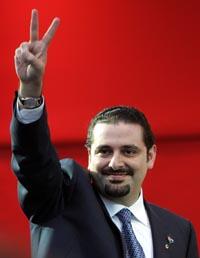 Saad al-Hariri har tro på valgseier i Libanon. (Foto: AFP)