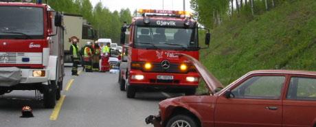 To sendt til sykehus Foto: Torvild Sveen, NRK