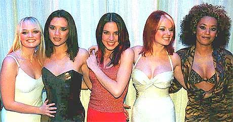 <b>Sammen igjen?</b> Skal de fem jentene i Spice Girls igjen synge sammen på plate? Foto: Scanpix.