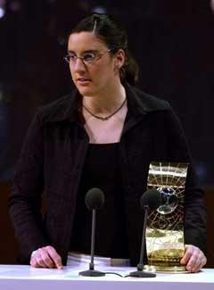 Birgit Prinz ble kåret til verdens beste spiller i fjor. (Foto: AP/Scanpix)