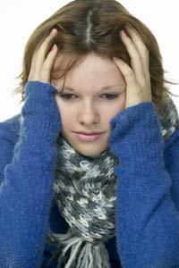 Ukentlig kjenner 23 prosent av alle kvinner, uansett alder, den samme gnagende angeren etter de har spist noe. Foto: Scanpix
