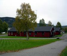I denne bygningen holder Forsvarets arkivadministrasjon på Jørstadmoen til. (Foto: Forsvaret)