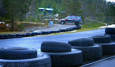 Motorsportsbana i Kråkenesmarka. Arkivfoto: Jostein Nyfløtt, NRK