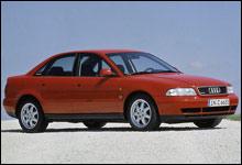 Audi A4 ruster minst viser undersøkelsen. (Foto: Autoindex)