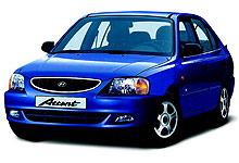 Hyundai Accent kommer dårligst ut av testen i begge tidsperiodene. (Foto: Autoindex)