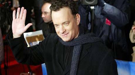 Tom Hanks som skal spille hovedrollen i «Da Vinci-koden» får ikke slippe inn i Westminister Abbey. Foto: Scanpix
