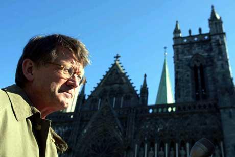 Biskop Finn Wagle. (Foto: Gorm Kallestad / SCANPIX)