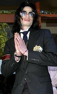 Michael Jackson fikk hard medfart i retten går. Foto: Scanpix