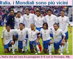 Faksimile fra Gazzetta dello Sport