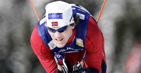 Skiesset mister minst seks ukers trening som følge av ulykken, men er bare glad han overlevde. (Foto: Scanpix/AFP PHOTO / DANIEL SANNUM LAUTEN)