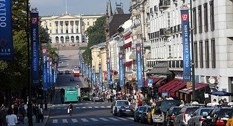 Oslofolk er de i mest forfengelege. Foto: Scanpix