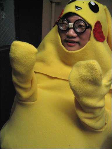 ... så søt som dette, kanskje? Hvis du har lurt på hvor Pikachu kommer fra: Her er er altså pappaen hans.