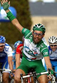 Damien Nazon kan bli Hushvods spurtopptrekker i Tour de France. (Foto: AFP/Scanpix)