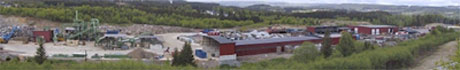 Norsk Metallfragmentering på Gjøvik.