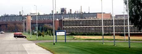 Borregaard fabrikker, Sarpsborg. Foto: SCANPIX