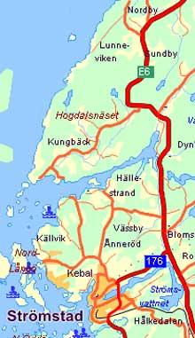 Hogdalsnäset er Sveriges vestligste punkt på fastlandet, og regnes som en sjelden naturperle.
