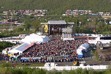 46664 Arctic, her sett fra Tromsøbrua, ble en suksess. Foto. Arne Kristian Gansmo, NRK.