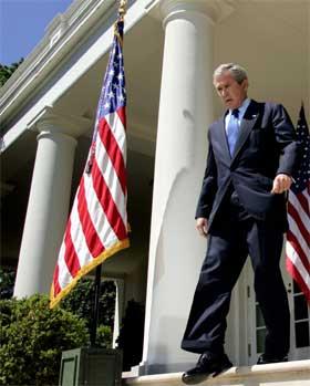 George W. Bush kjem til Danmark i kveld. (Reuters/Scanpix-foto)
