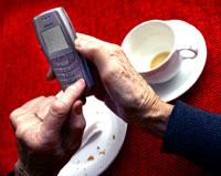 Kontakt med familien påvirker ikke livslengden. Men det gjør vennene. Foto: Scanpix