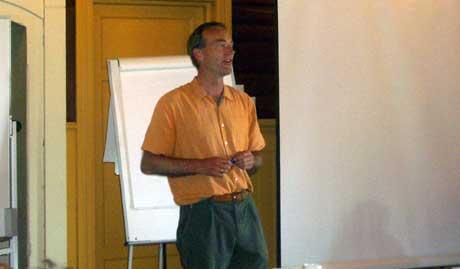 Thomas Hylland Eriksen kick-startet P1-regjeringens tankeprosess torsdag