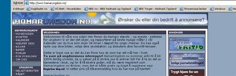 En Ringsaker-far har politianmeldt grov hets av barna sine på nettstedet hamarungdom.no. Illustrasjonsfoto: NRK