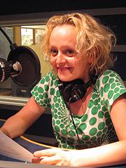 Marianne Meløy kåserer hver mandag i Norgesglasset. Foto: Per Kristian Johansen, NRK
