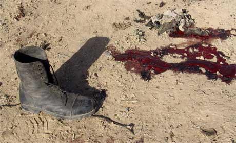 Minst 13 politimenn ble drept i den kurdiske byen Arbil. (Foto: Scanpix / AFP)