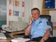 Jan Erik Strøm, politistasjonssjef ved Drammen politistasjon.